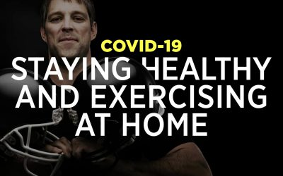 COVID-19: Staying Healthy And Exercising At Home